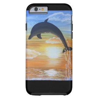 Dolphin iPhone cover original art