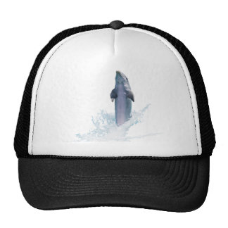 Dolphin Jumping Trucker Hat