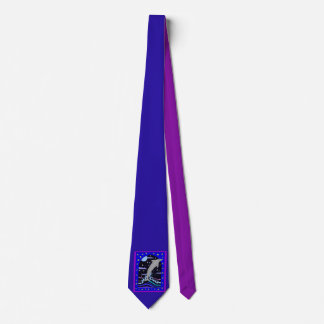Dolphin `Leap for the stars' Neck Tie