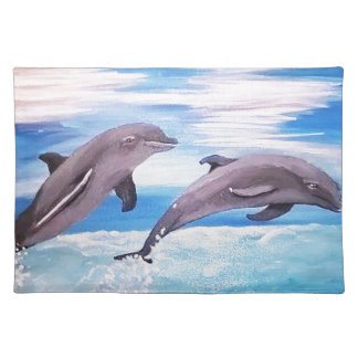 Dolphin Leap Placemat