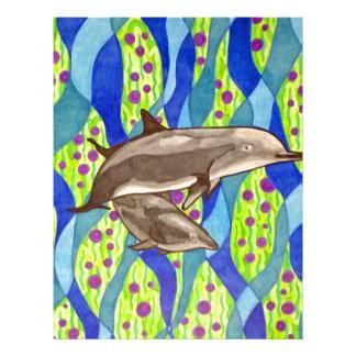 dolphin letterhead