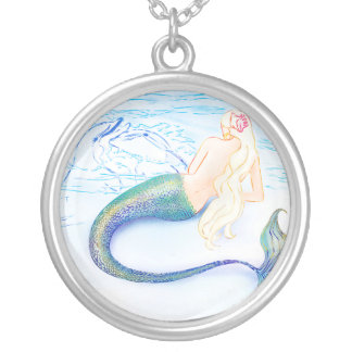 Dolphin Love ~ Necklace ~ by Kat