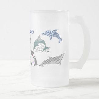 Dolphin lover mug