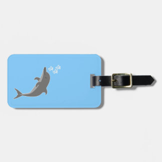 Dolphin Luggage Tag