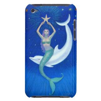 Dolphin Moon Mermaid iPod Touch Case