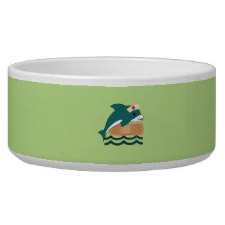 Dolphin Nurse Pet Bowls