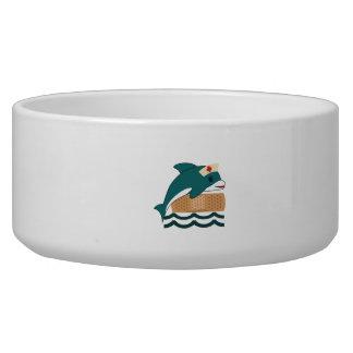 Dolphin Nurse Pet Water Bowls