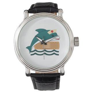 Dolphin Nurse Wrist Watch