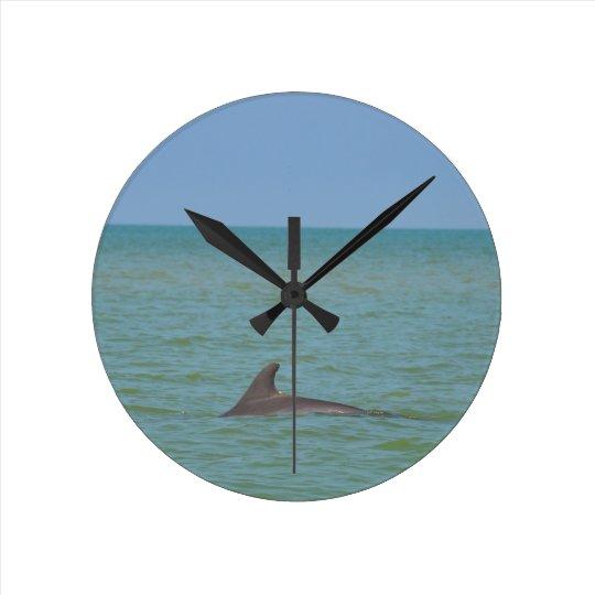 Dolphin on Sanibel Wallclocks