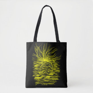 Dolphin pair in the Sunshine Tote Bag