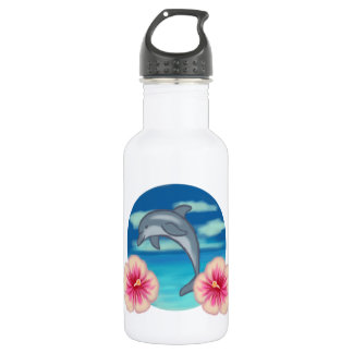 Dolphin Paradise 532 Ml Water Bottle