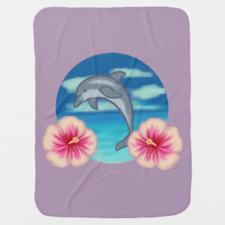 Dolphin Paradise Baby Blanket