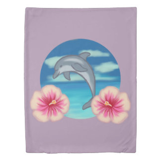 Dolphin Paradise Duvet Cover