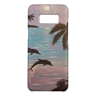 Dolphin Paradise Escape Phone case