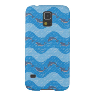 Dolphin Patterned Galaxy S5 Covers