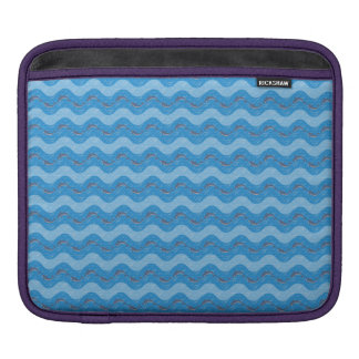 Dolphin Patterned iPad Sleeve