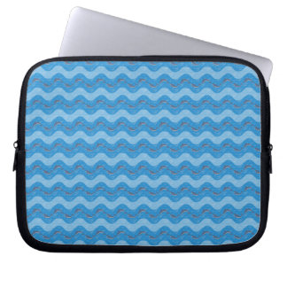 Dolphin Patterned Laptop Sleeve