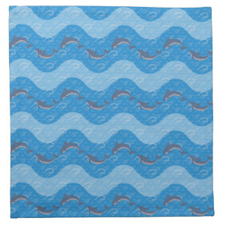 Dolphin Patterned Napkin