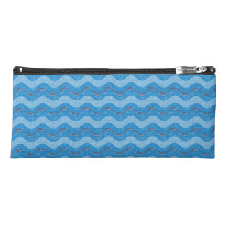 Dolphin Patterned Pencil Case