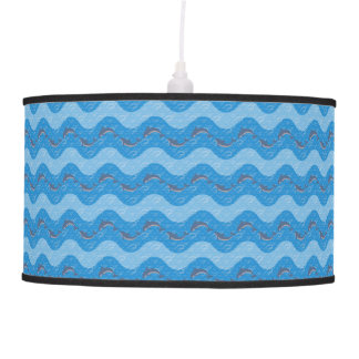 Dolphin Patterned Pendant Lamp
