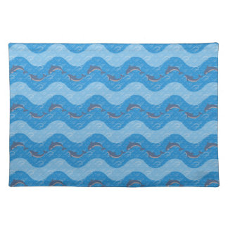 Dolphin Patterned Placemat