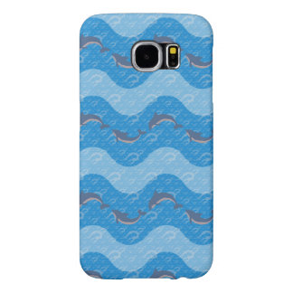 Dolphin Patterned Samsung Galaxy S6 Cases