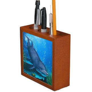 Dolphin Pencil Holder