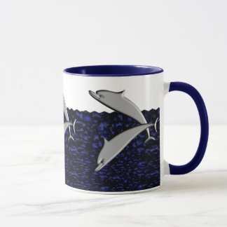 Dolphin Play Mug