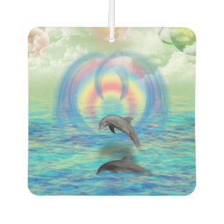 Dolphin Rising Air Freshener