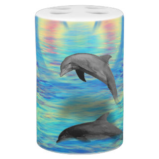 Dolphin Rising Bathroom Set
