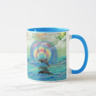 Dolphin Rising Mug