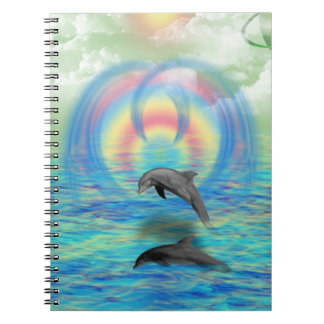 Dolphin Rising Notebook