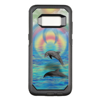 Dolphin Rising OtterBox Commuter Samsung Galaxy S8 Case