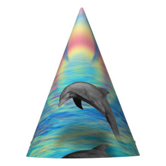 Dolphin Rising Party Hat