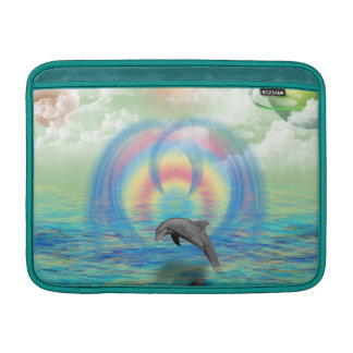 Dolphin Rising Sleeve For MacBook Air