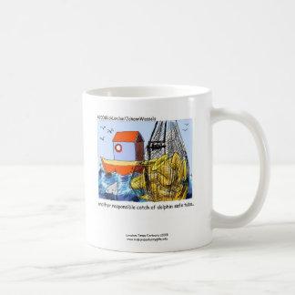 Dolphin Safe Tuba Funny Coffee Mug
