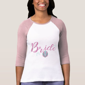 Dolphin Seaside Bride T-Shirt