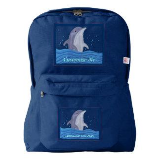 Dolphin Splash Backpack