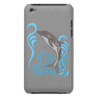 Dolphin Splashing Barely There iPod Case