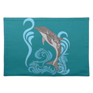 Dolphin Splashing Placemat