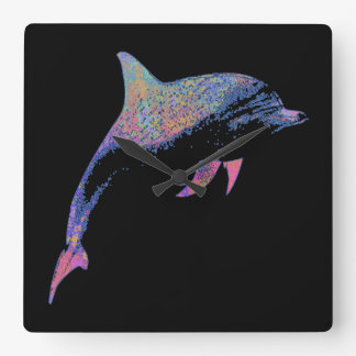 dolphin square wall clock