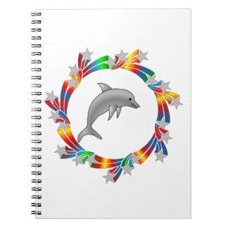 Dolphin Stars Notebook