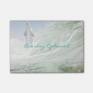 Dolphin Surfer Sticky Notes