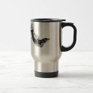 Dolphin Swimming Travel Mug
