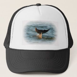 Dolphin Tail up Trucker Hat