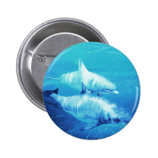 Dolphin Tee shirts and items 2 Inch Round Button