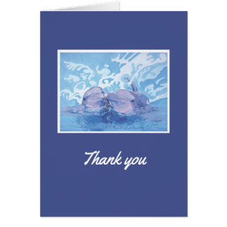 Dolphin Thank-You Card