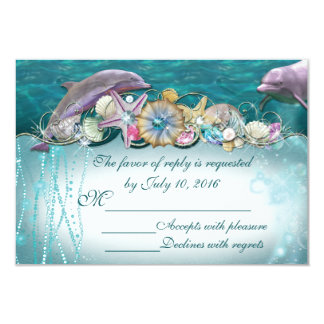 Dolphin Under the Sea Insert Cards