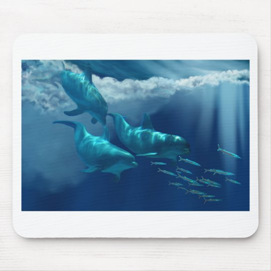DOLPHIN WORLD  Mousepad