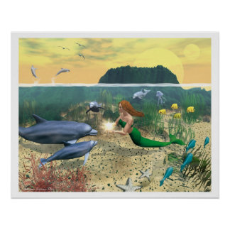 Dolphin World: The Gift Poster